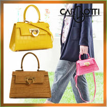 CARBOTTI(カルボッティ) バッグ・カバンその他 Carbotti☆ LICIA241 クロコバッグ ☆日本未入荷  made in Italy