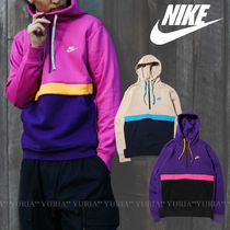 国内発送【NIKE】ナイキ☆AS M NSW CLUB HOODIE HALF ZIP
