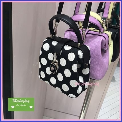 kate spade new york ハンドバッグ 【kate spade】可愛いドット★remedy small top-handle bag★