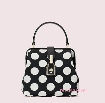 kate spade new york ハンドバッグ 【kate spade】可愛いドット★remedy small top-handle bag★(2)