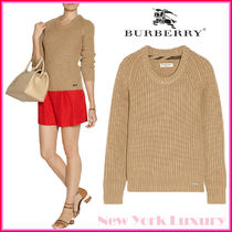 BURBERRY★素敵!CHUNKY-KNIT 100% CASHMERE SWEATER