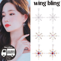 wing bling(ウィングブリン) ピアス wing bling LIKE SNOW BLOSSOM EARRING BBM313 追跡付