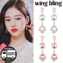 wing bling LIGHTING EARRING BBM319 追跡付