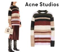 [関税・送料込] Acne Studios☆Striped wool-blend sweater