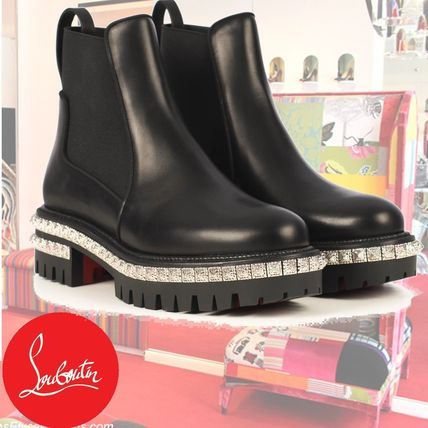 Louboutin*存在感抜群☆By the Riverアンクルブーツ