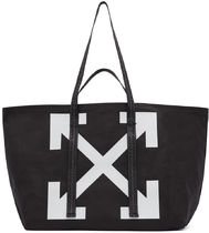 OFF-WHITE // CANVAS COMMERCIAL TOTE BAG キャンバス トート 黒