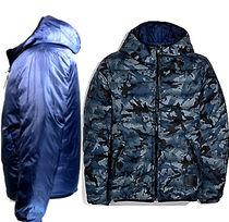 使えるリバーシブル☆COACH☆REVERSIBLE DOWN JACKET WITH HOOD