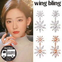 wing bling IN THE WINTER EARRING BBM324 追跡付