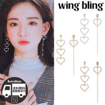 wing bling FALLING IN LOVE EARRING BBM325 追跡付