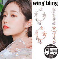 wing bling FLYING PETALS EARRING BBM328 追跡付