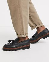 Grenson(グレンソン) シューズ・サンダルその他 Grenson booker loafers in black grain leather