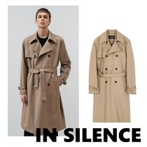 ◆IN SILENCE◆スロー時のトレンチコートBEIGE