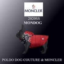 20SS★新作★ ZOOM POLDO DOG COUTURE & MONCLER犬用コート