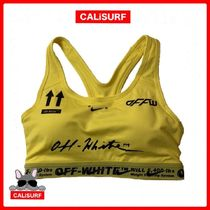 【NIKE】OFF-WHITE Nike Sports Bra/ YELLOW