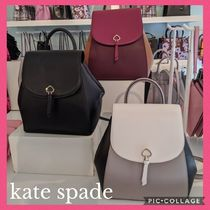 *kate spade*新作バック全3色♪adel medium flap backpack