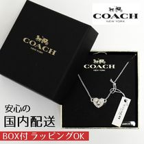 COACH☆ハート ネックレス ギフトボックス付き☆税・送込