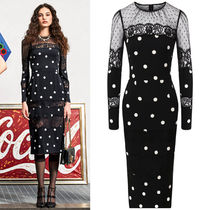 DG2223 POLKA DOT SILK DRESS