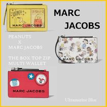MARC JACOBS × スヌーピー★THE BOX TOP-ZIP MULTI WALLET☆
