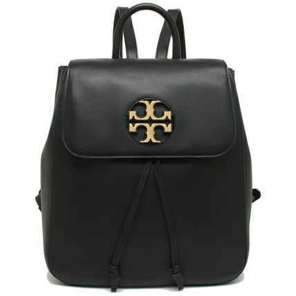 Tory Burch バックパック・リュック TORY BURCH     MILLER METAL BACKPACK リュック BLACK