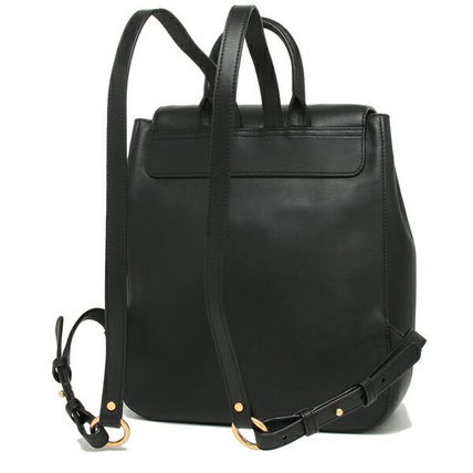 Tory Burch バックパック・リュック TORY BURCH     MILLER METAL BACKPACK リュック BLACK(4)