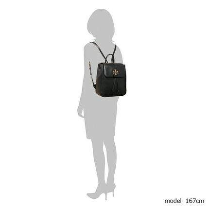 Tory Burch バックパック・リュック TORY BURCH     MILLER METAL BACKPACK リュック BLACK(6)