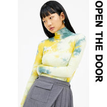 ●OPEN THE DOOR●韓国ファッション●COLOUR PAINT POLA T (2色)