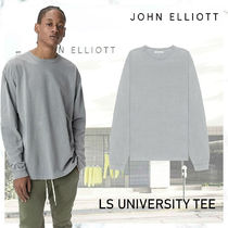 大人気!! 完売必須! JOHN ELLIOTT LS UNIVERSITY TEE