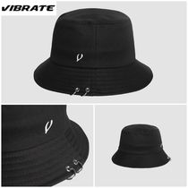 日本未入荷☆VIBRATE★TWIN RING BUCKET HAT (BLACK