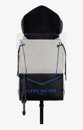 GIVENCHY バックパック・リュック 【GIVENCHY】2020SS*レザー&キャンバス ボンド バックパック(5)