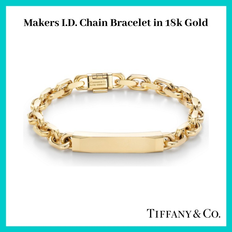 【Tiffany & Co.】 Makers I.D. Chain Bracelet in 18k Gold (Tiffany & Co/ブレスレット) 51046502