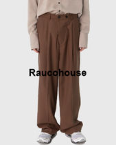 raucohouse  OVER LOOSE FIT TROUSERS