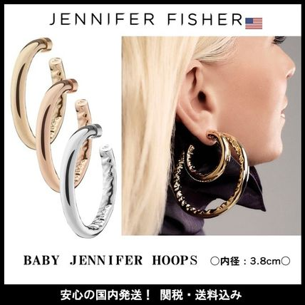 JENNIFER FISHER ピアス ☆JENNIFER FISHER☆ 日本未入荷!BABY JENNIFER HOOPS /全3色