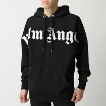 Palm Angels パーカー PMBB036R20636001 FRONT OVER LOGO HOODY