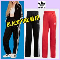 BLACKPINK着★adidas Originals★3-stripesワイドトラックパンツ