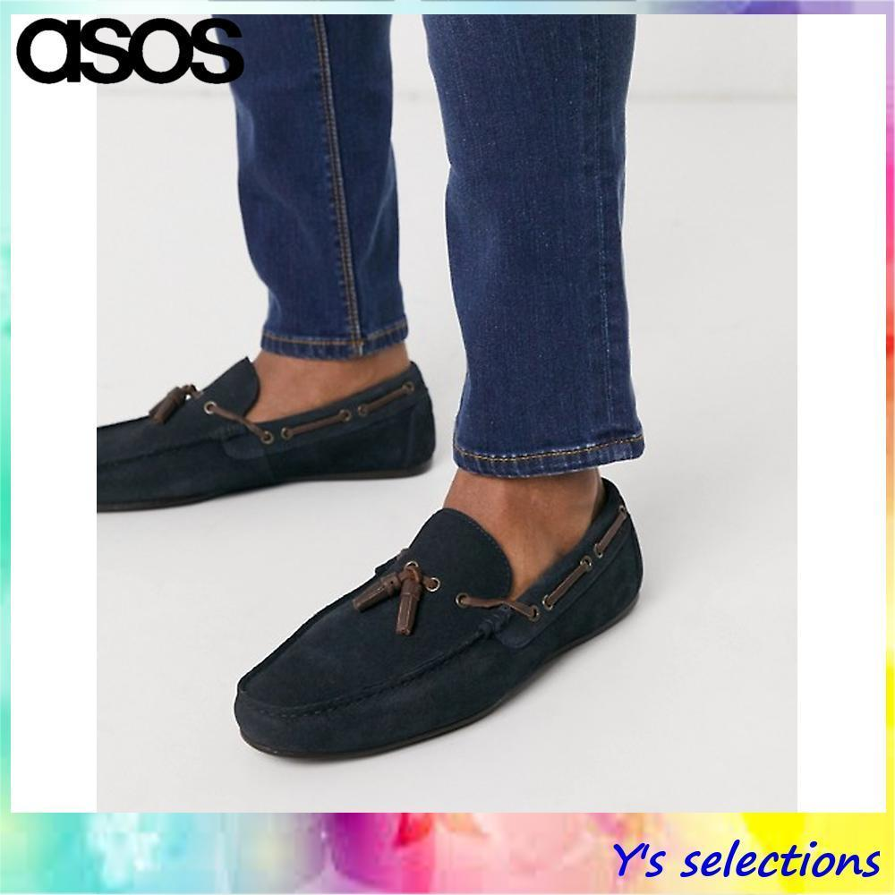 Shop ASOS 2019-20AW Driving Shoes Suede