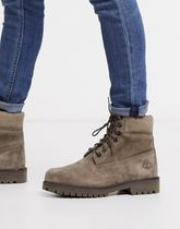 Timberland 6 premium boots in olive nubuck