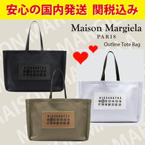関送料込国内発送★MAISON MARGIELA Outline Tote Bag
