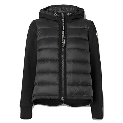 ∞∞ MONCLER ∞∞ Quilted shell and cotton-blend ジャケット