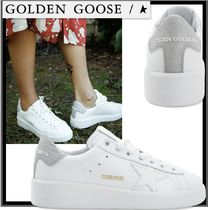★関税込★Golden goose★Total White Pure Star グリッター