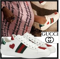送料無料・関税込★GUCCI★ACE EMBROIDERED SNEAKER