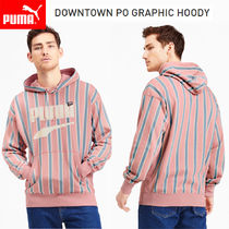 [PUMA(プーマ)] DOWNTOWN PO GRAPHIC HOODY ジャケット