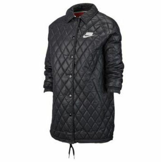 FW19 NIKE NSW SPORTSWEAR WOMEN THERMORE QUILTED JACKET BLACK