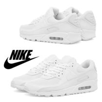 ナイキ Nike Air Max 90 W / White & Wolf Grey / 送料込