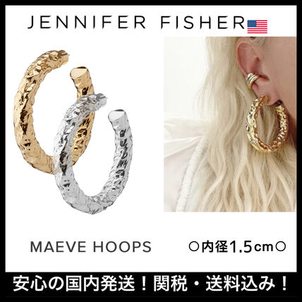 JENNIFER FISHER ピアス ☆JENNIFER FISHER☆ 日本未入荷!MAEVE HOOPS/全2色