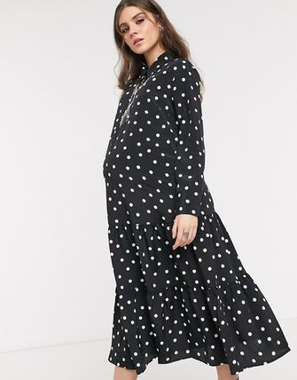 TOPSHOP マタニティワンピース ◆ASOS◆Topshop maternityシャツワンピース(4)