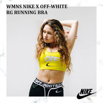 【完売必須!!】WMNS NIKE X OFF-WHITE NRG RUNNING BRA - YELLOW