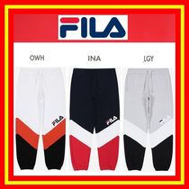 ◆FILA◆ NEW HERITAGE COLOR BLOCK JOGGER PANTS◆全3色◆兼用