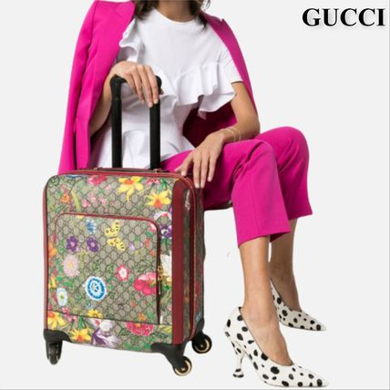 GUCCI スーツケース GUCCI  GG Flora carry-on