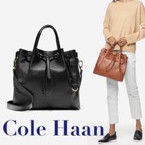 【Cole Haan】2WAY☆Grand Ambition 巾着バケットバッグ
