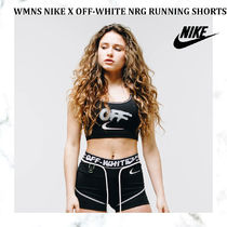 【完売必須!!】WMNS NIKE X OFF-WHITE NRG RUNNING SHORTS